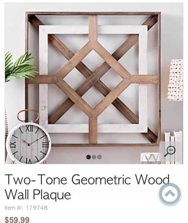 DIY wooden wall art