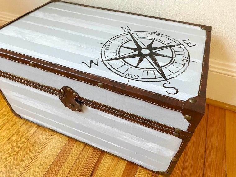 Compass Vintage Trunk